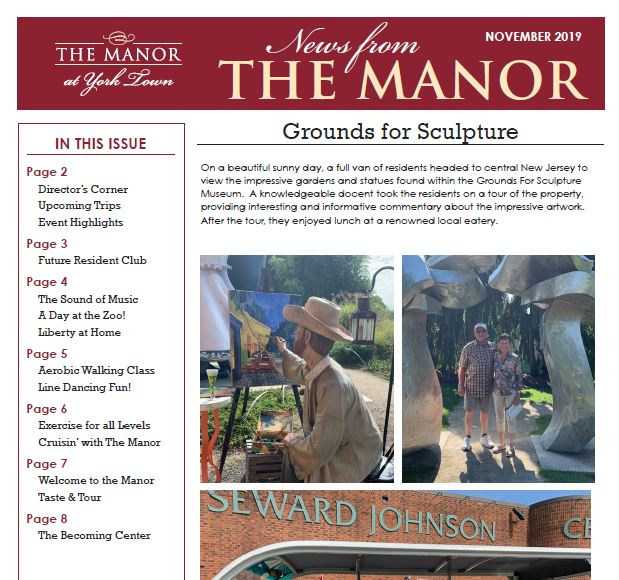 community news the manor at york town